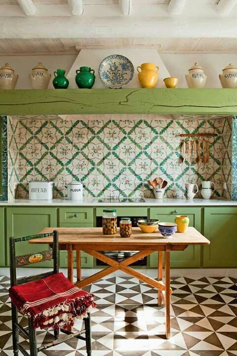 zielona kuchnia 9