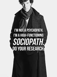 sherlock psychopath